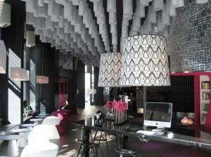 Dekorace v hotelu Barcélo z pěny Basotect